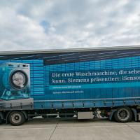 Hightech-Waschmaschine - Actros Mercedes Benz