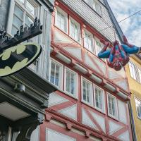 Batman gegen Spiderman